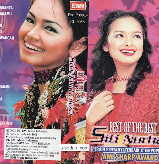 SITI NURHALIZA - BEST OF THE BEST - AMI SHARP 2000