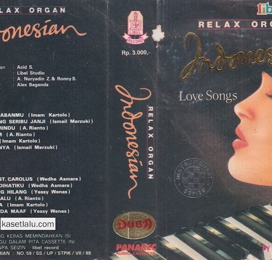 RELAX ORGAN INDONESIAN LOVE SONGS BY ACID S