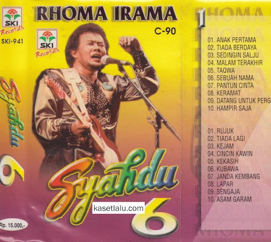 RHOMA IRAMA - SYAHDU 6