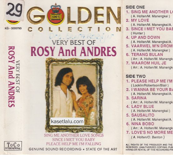ROSY & ANDRES - GOLDEN COLLECTION VERY BEST OF