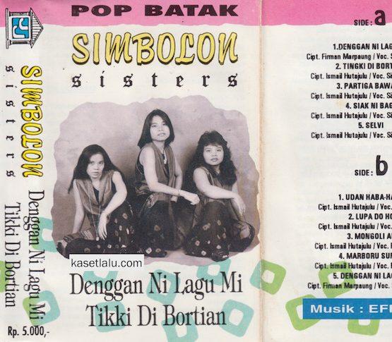 SIMBOLON SISTERS - POP BATAK - DENGGAN NI LAGU NI - TIKKI DI BORTIAN
