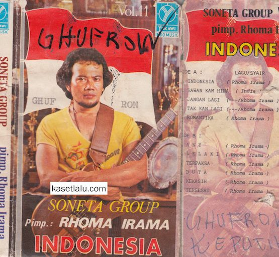 SONETA GROUP VOL. 11 PIMP. RHOMA IRAMA - INDONESIA