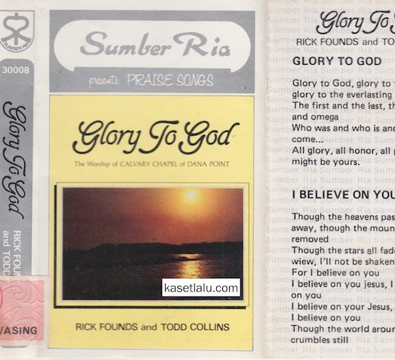 SUMBER RIA PRESENTS PRAISE SONGS - GLORY TO GOD