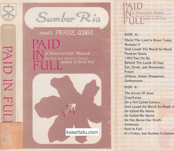 SUMBER RIA PRESENTS PRAISE SONGS PAID IN FULL