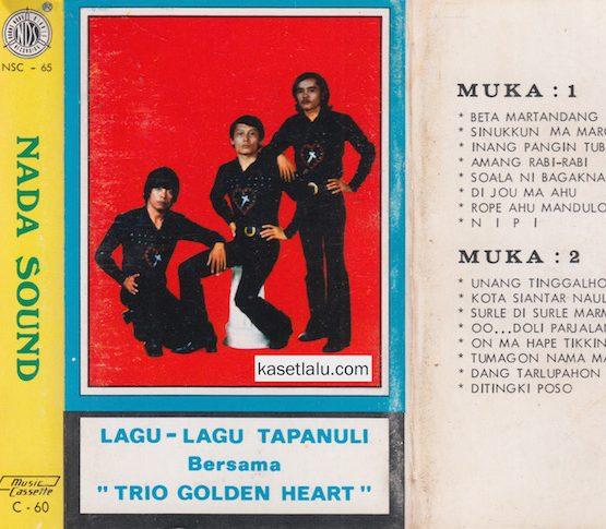 TRIO GOLDEN HEART - LAGU LAGU TAPANULI