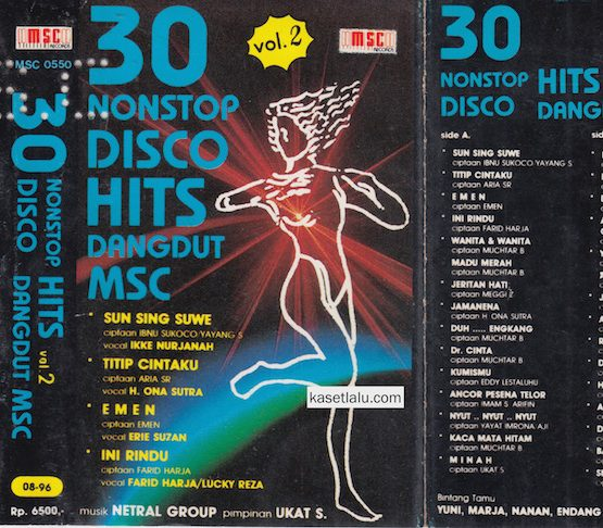 30 NONSTOP DISCO HITS DANGDUT MSC VOL. 2