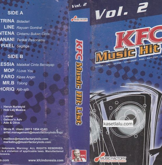 KFC MUSIC HIT LIST VOL. 2