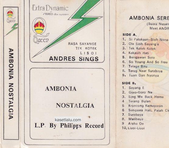 ANDRES SINGS AMBOINA NOSTALGIA SERENADE 3