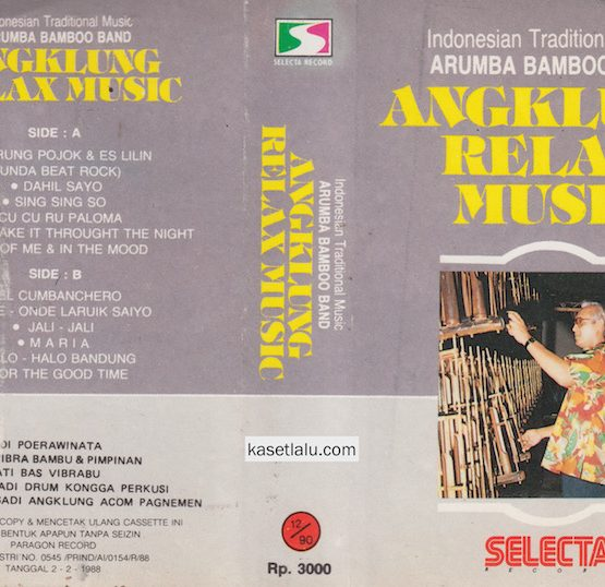 INDONESIAN TRADITIONAL MUSIC ARUMBA BAMBOO BAND - ANGKLUNG RELAX MUSIC
