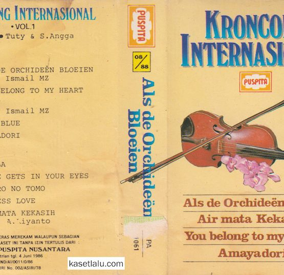 KRONCONG INTERNASIONAL VOL. 1 (VOCAL TUTY & S. ANGGA)