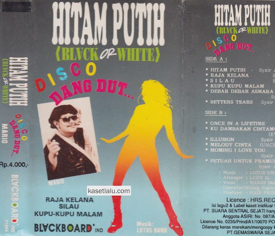 MARIO - HITAM PUTIH (BLACK OR WHITE) DISCO DANGDUT