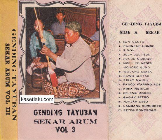 GENDING TAYUBAN SEKAR ARUM VOL. 3