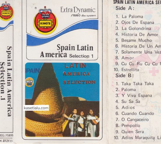 KING'S K-012ED - SPAIN LATIN AMERICA SELECTION 1