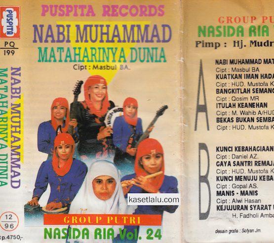 NASIDA RIA - VOL. 24 NABI MUHAMMAD MATAHARINYA DUNIA