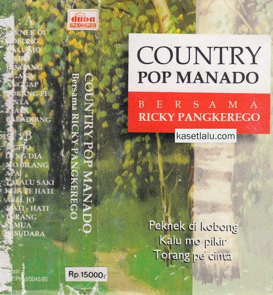 RICKY PANGKEREGO - COUNTRY POP MANADO