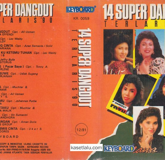 14 SUPER DANGDUT TERLARIS '90