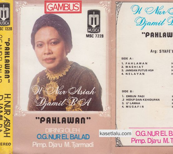 H NUR ASIAH DJAMIL BA - PAHLAWAN (O.G NUR EL BALAD)