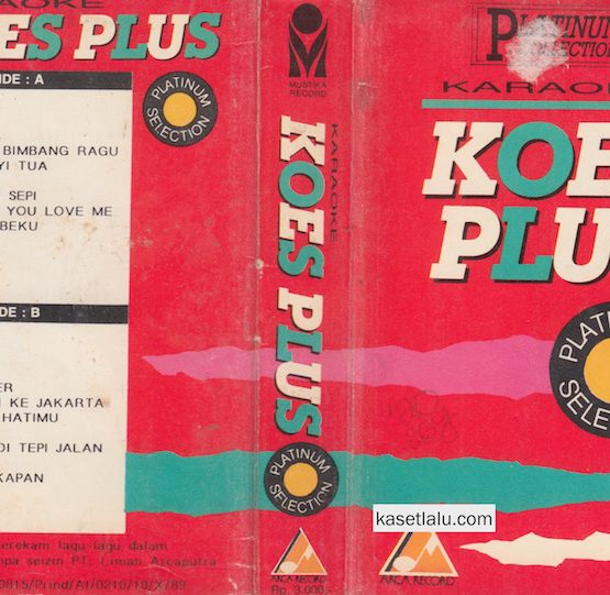 KOES PLUS - KARAOKE PLATINUM SELECTION