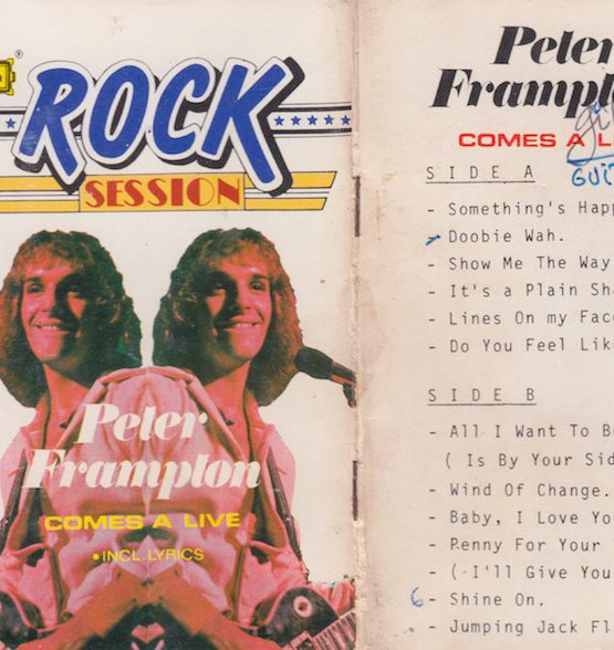 PETER FRAMPLON - COMES A LIVE