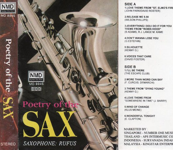 POETRY OF THE SAX (SAXOPHONE RUFUS)