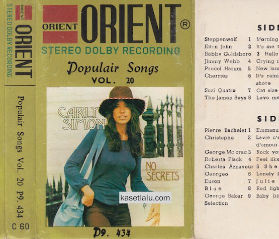 POPULAIR SONGS VOL. 20 (ORIENT)