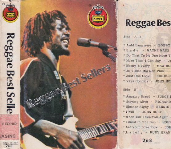 REGGAE BEST SELLERS