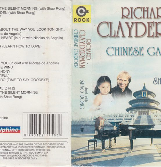 RICHARD CLAYDERMAN - CHINESE GARDEN DUET WITH SHAO RONG