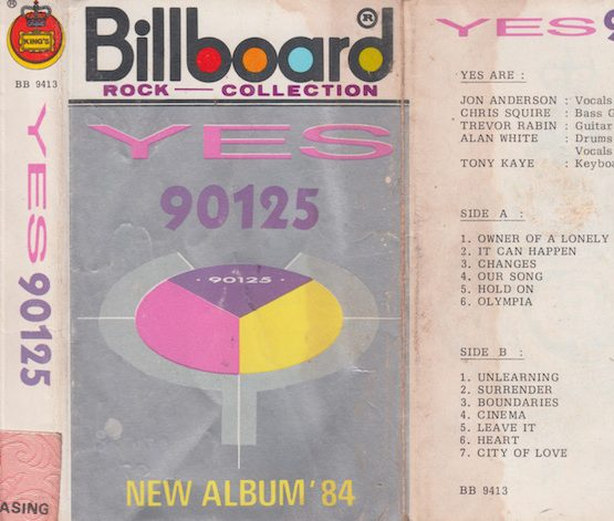 YES - 90125 NEW ALBUM '84
