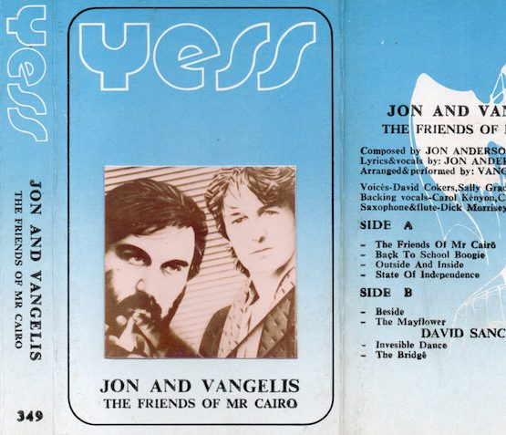 YESS - JON AND VANGELIS - THE FRIENDS OF MR. CURO