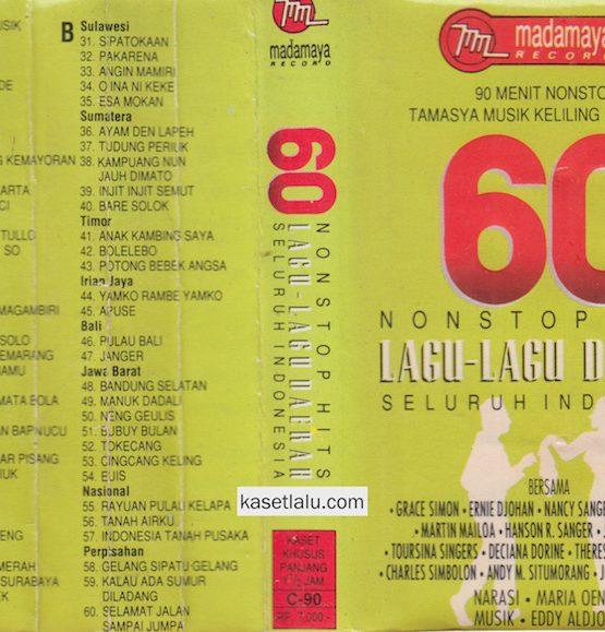 60 NONSTOP HITS LAGU LAGU DAERAH SELURUH INDONESIA