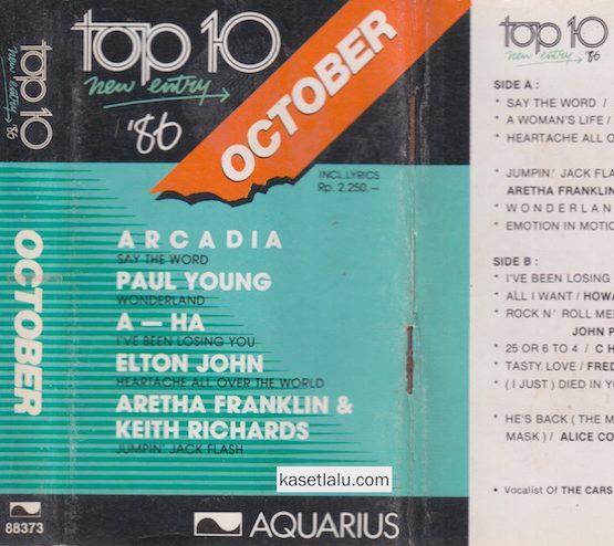 AQUARIUS - TOP 10 NEW ENTRY OCTOBER '86