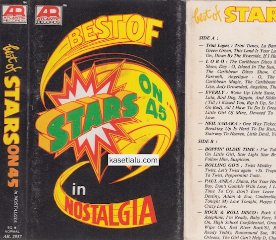 AR 2937 - BEST OF STARS ON 45 IN NOSTALGIA
