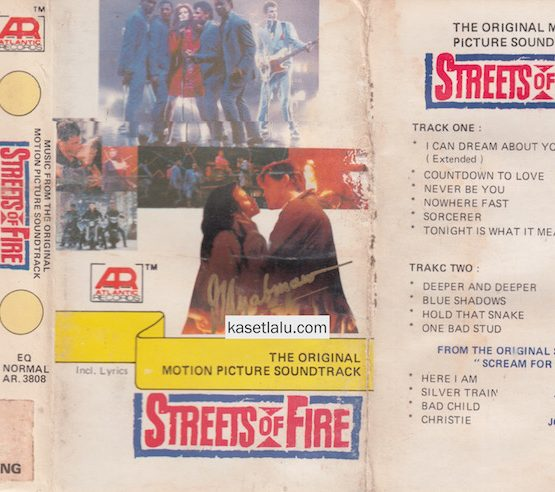 AR 3808 - THE ORIGINAL MOTION PICTURE SOUNDTRACK STREETS OF FIRE