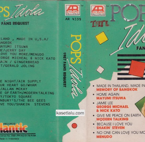 AR 4339 - POPS IDOLA 1987 FANS REQUEST