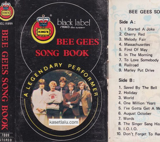 BEE GEES - SONG BOOK