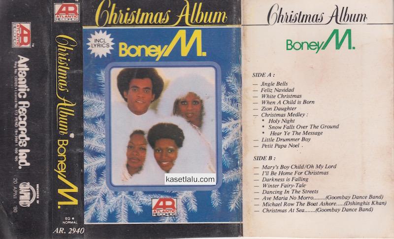 Boney M Christmas Album.Boney M Christmas Album Kaset Lalu