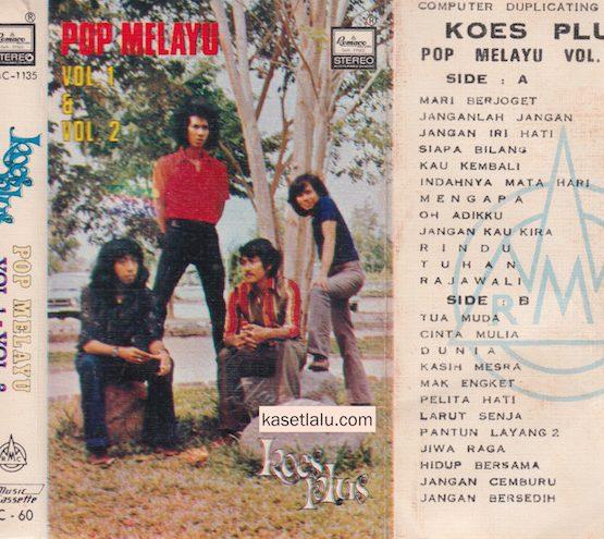 KOES PLUS - POP MELAYU VOL. 1 - VOL. 2 (REMACO)