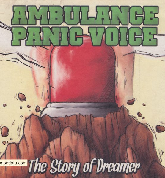 CD - AMBULANCE PANIC VOICE - THE STORY OF DREAMER