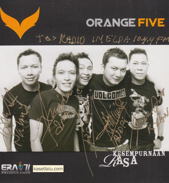 CD - ORANGE FIVE - KESEMPURNAAN RASA