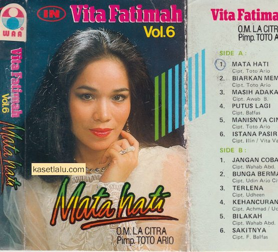 VITA FATIMAH VOL. 6 - MATA HATI (O.M LA CITRA)