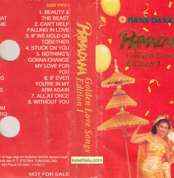 BANK DANAMON - PRIMADONA GOLDEN LOVE SONGS EDITION I
