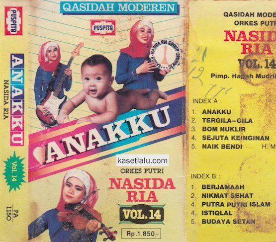 NASIDA RIA - VOLUME 14 ANAKKU