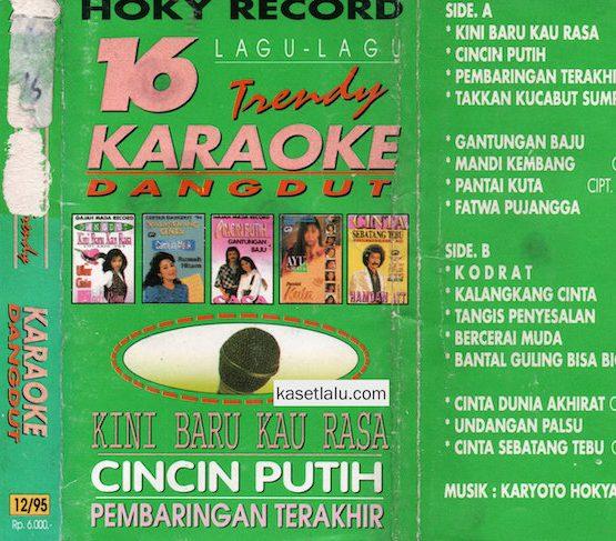 16 LAGU TRENDY KARAOKE DANGDUT - CINCIN PUITH (HOKY RECORD)