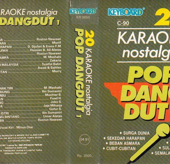 20 Karaoke Nostalgia Pop Dangdut 1