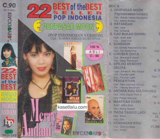 22 BEST OF THE BEST SELLER POP INDONESIA - DENPASAR MOON
