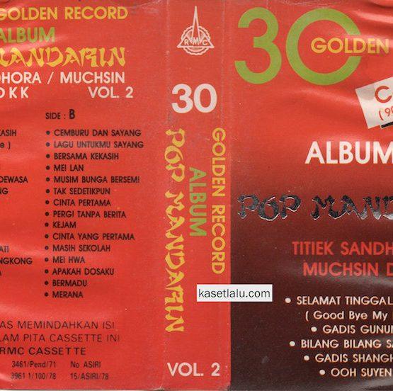 30 GOLDEN RECORD ALBUM POP MANDARIN