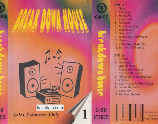 BREAK DOWN HOUSE - SALES INDONESIA ONLY 1