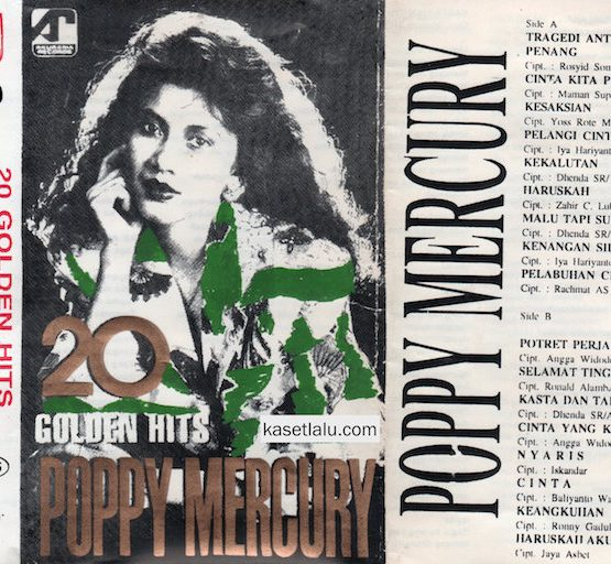 POPPY MERCURY - 20 GOLDEN HITS (BOOTLEG)