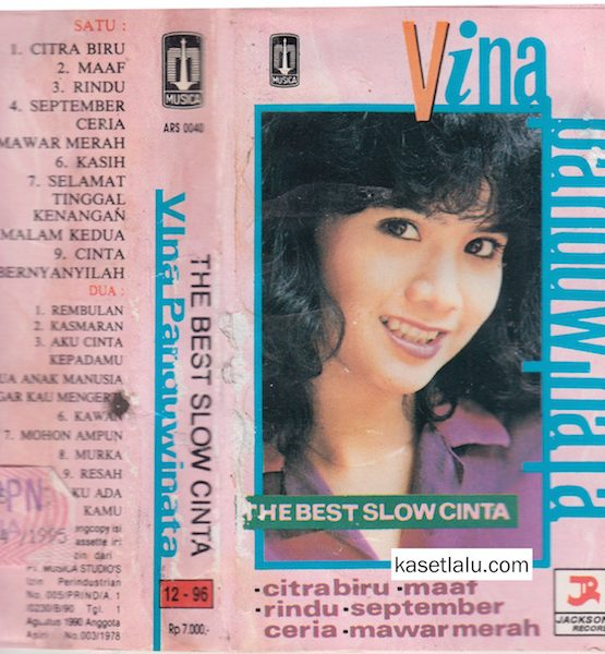 VINA PANDUWINATA - THE BEST SLOW CINTA