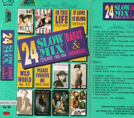 24 SLOW MIX BARAT & INDONESIA